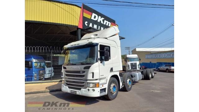 Scania P 360 A 6x2 2014 automatica completo