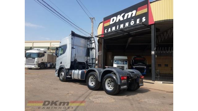 Scania R 450 A 6x2 completo 2019 com 190 mil km