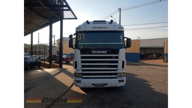 Scania R124 NZ 420 ano 2007 manual 6x2
