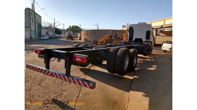 FH 460 ano 2014 Ishif 6x4 bogie leve completo